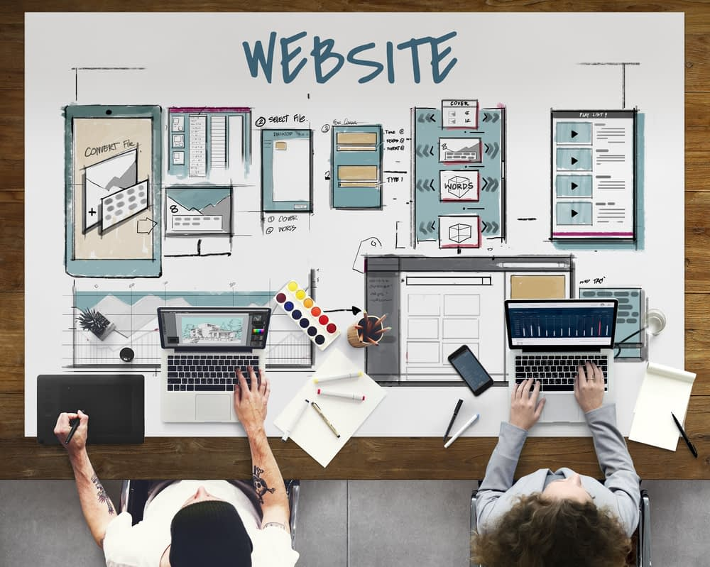website and marketing